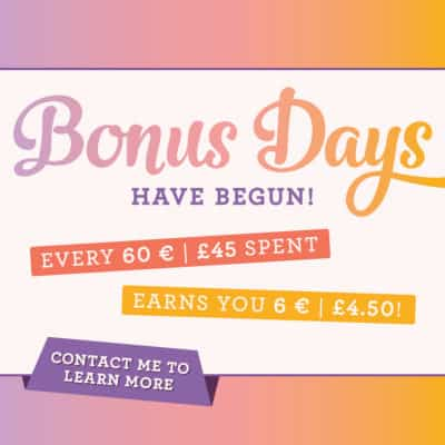 Stampin' Up! Bonus Days are BACK!