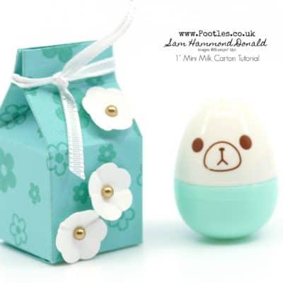 Inchie Milk Carton Gifts Tutorial