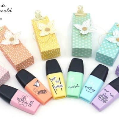 Stabilo Pastel Highlighter Pen Bags
