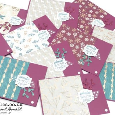 Customer Thank You Cards with a Joyous Noel