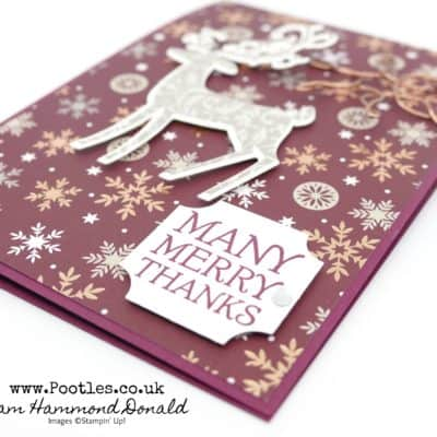 Dashing Deer and Joyous Noel Sneak Peek with Christmas Traditions Punch Box