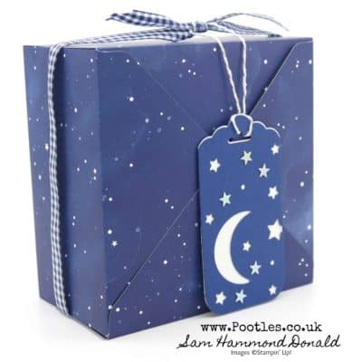 Envelope Punch Board Box using Stampin' Up! Twinkle Twinkle