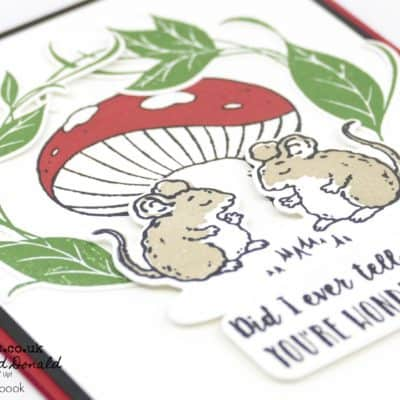 Sweet Storybook Die Cut Card