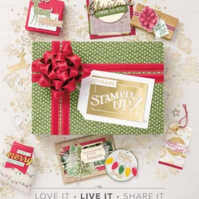 Who wants a free copy of the New Autumn Winter Stampin' Up! Catalogue?