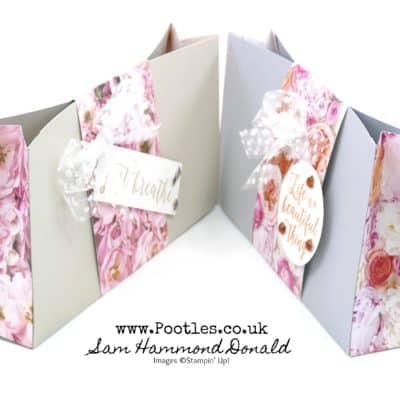 Petal Promenade Card and Paper Bag Tutorial