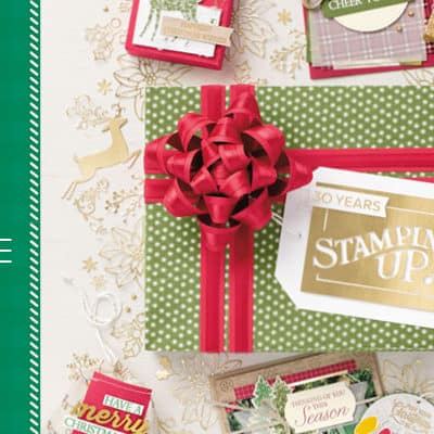 Stampin' Up! Autumn Winter Catalogue is LIVE!