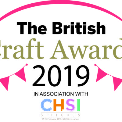 I got nominated in the British Craft Awards 2019