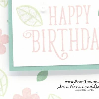 Happy Birthday Gorgeous in Soft Subtle Pastels