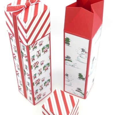 Pootles Advent Countdown 2018 #17 Tall Santa's Workshop Hidden Lidded Box