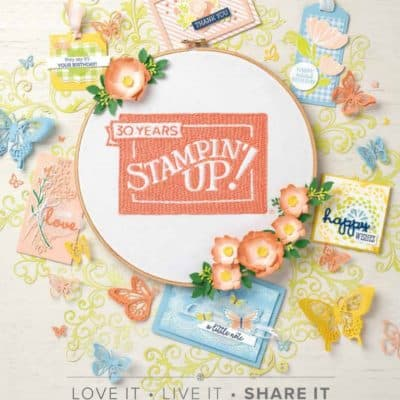 Who wants a free copy of the Spring Summer 2019 Stampin' Up! Catalogue?