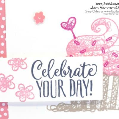 Hello Cupcake Sale a Bration Sneak Peek Card