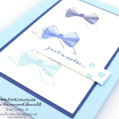 Wishing You Well DistINKtive Stamping Quick Card
