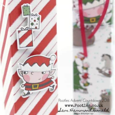 Pootles Advent Countdown 2018 #23 Tall Skinny Lucky Dip Bag
