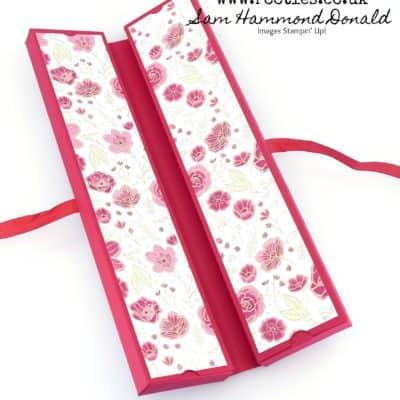Fold Flat Book Box Tutorial using All My Love DSP