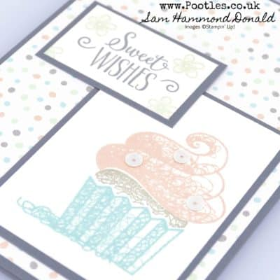 Hello Cupcake Sale a Bration FREE Stamp Set with Twinkle Twinkle Paper