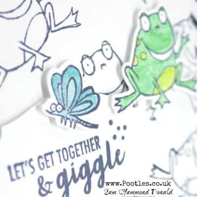 So Hoppy Together to Hop Around with Free Stamps and Paper!