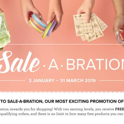 Sale a Bration – New Goodies!!!!