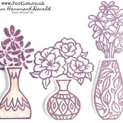 Beautiful Vibrant Vases with a touch of Floral Romance