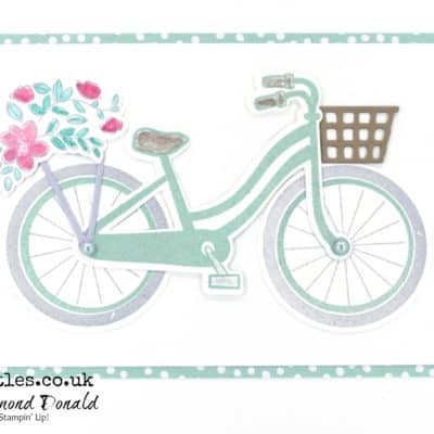 Build a Mint Macaron Bike and go on a Bike Ride!
