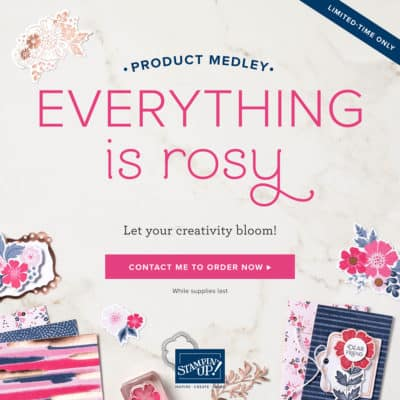 Everything is Rosy Product Medley from Stampin' Up! + Free PDF of Project Ideas
