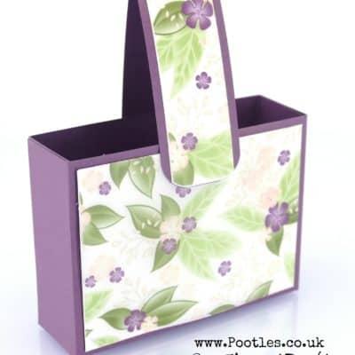 Floral Romance Delicate Handbag