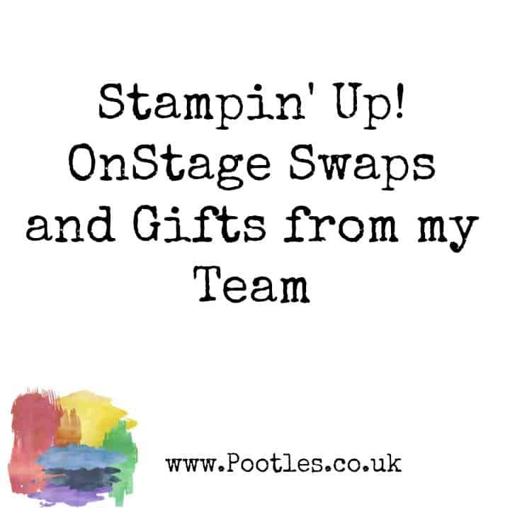 1 Stampin' Up! Demonstrator Pootles – Stampin' Up! Swaps and