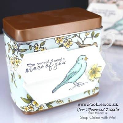Bird Ballad Copper Tea Tin