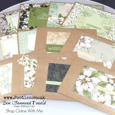 Magnolia Lane Memories and More Cards