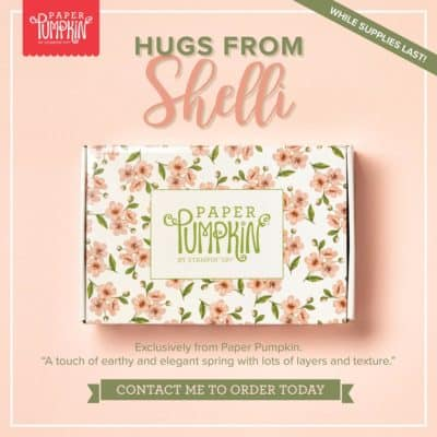 Paper Pumpkin – Hugs From Shelli – It's Live!