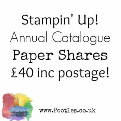 2019 Annual Catalogue Paper Shares are OPEN!