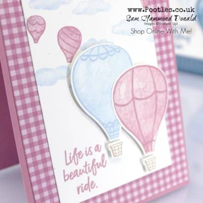 Above The Clouds Card Tutorial using new In Colours