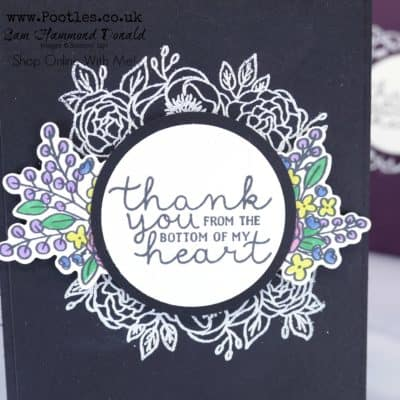 Bloom And Grow Heat Embossed Card Tutorial