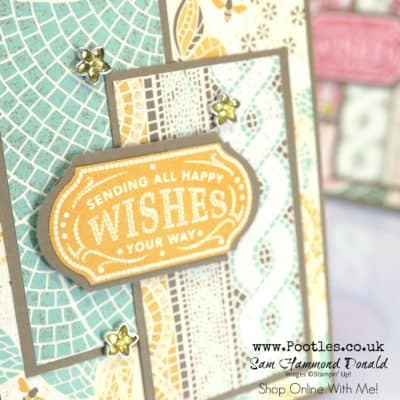 Memorable Mosaic Mood Layered Card Tutorial