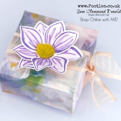 Perennial Essence Flower Favour Box Tutorial