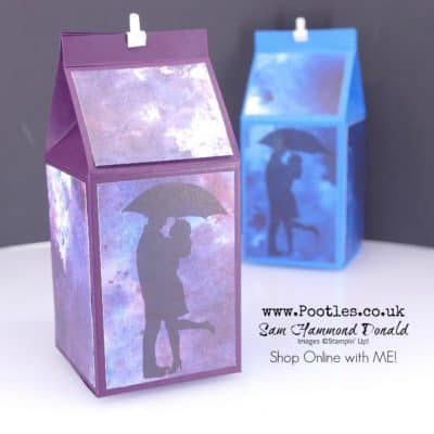 Silhouette Scene Milk Carton Tutorial