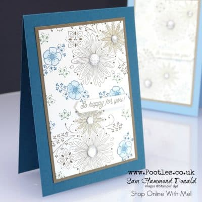 A Little Lace Wink of Stella Card Tutorial