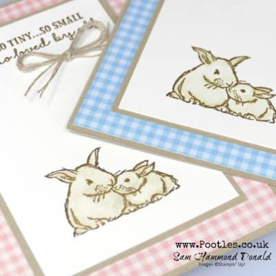 A Wildly Happy Bunny Card Tutorial