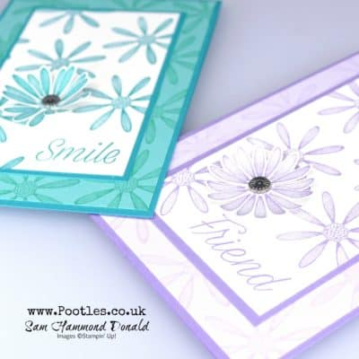 Beautiful Daisy Lane Card Tutorial