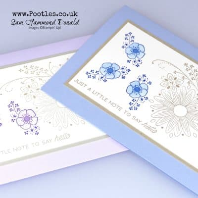 Customer Thank You Cards with A Little Lace