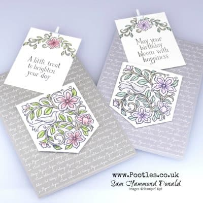 Pocketful of Happiness Pull out card tutorial