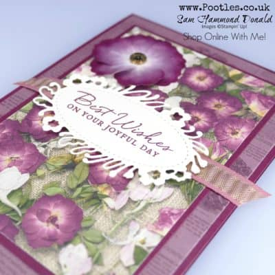 Pressed Petals Beautiful Layered Card