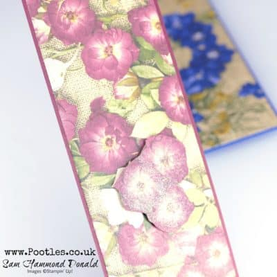 Pressed Petals Bookmark Tutorial
