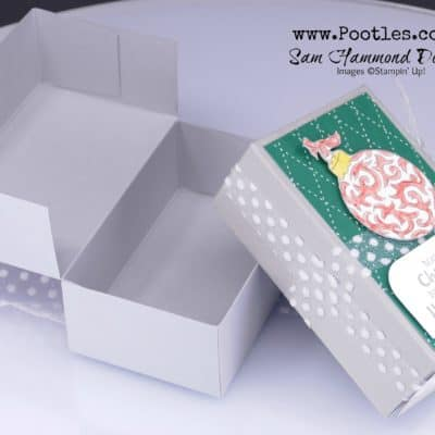 Lots of Cheer Christmas Side Opening Box Tutorial