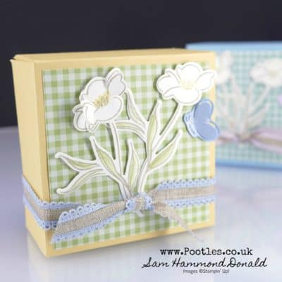Lovely Is The Day Picnic Box for Handmade Soap