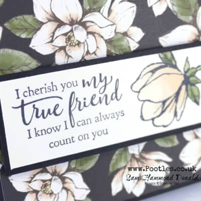 Strong and Beautiful with Magnolia Lane Blends Card Tutorial