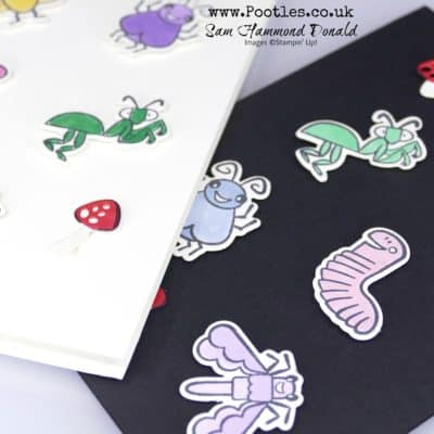 Wiggle Worm and the Wiggly Bugs Die Cut Card Tutorial