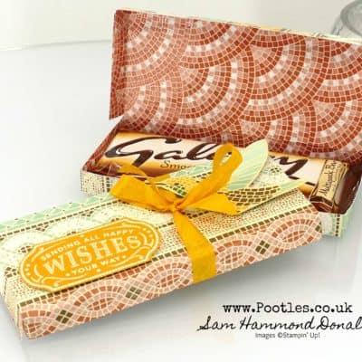 Mosaic Mood Chocolate Bar Box Tutorial