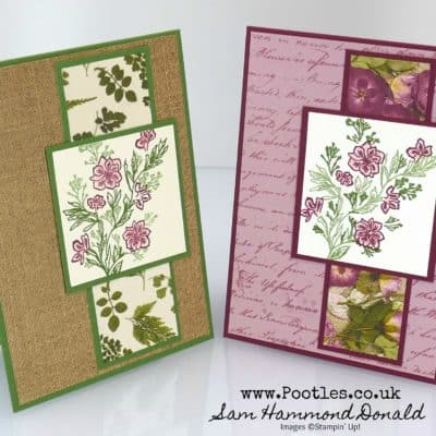 Path of Petals Triple Stamping Tutorial