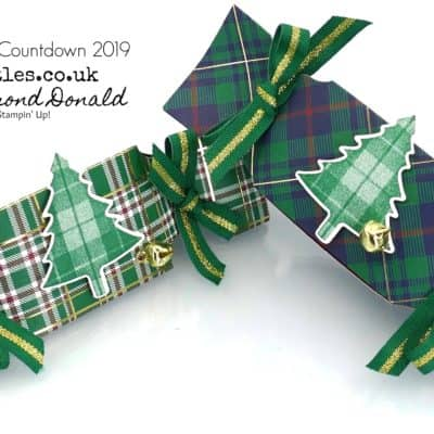 Pootles Advent Countdown 2019 #1 Triangular Cracker Tutorial