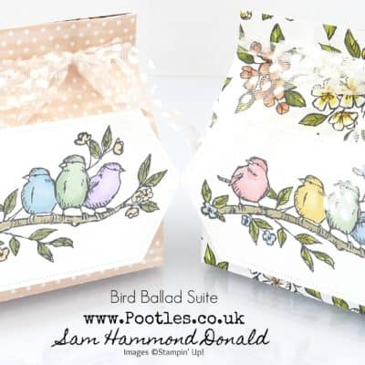 Free as a Bird Yankee Votive Bag Tutorial